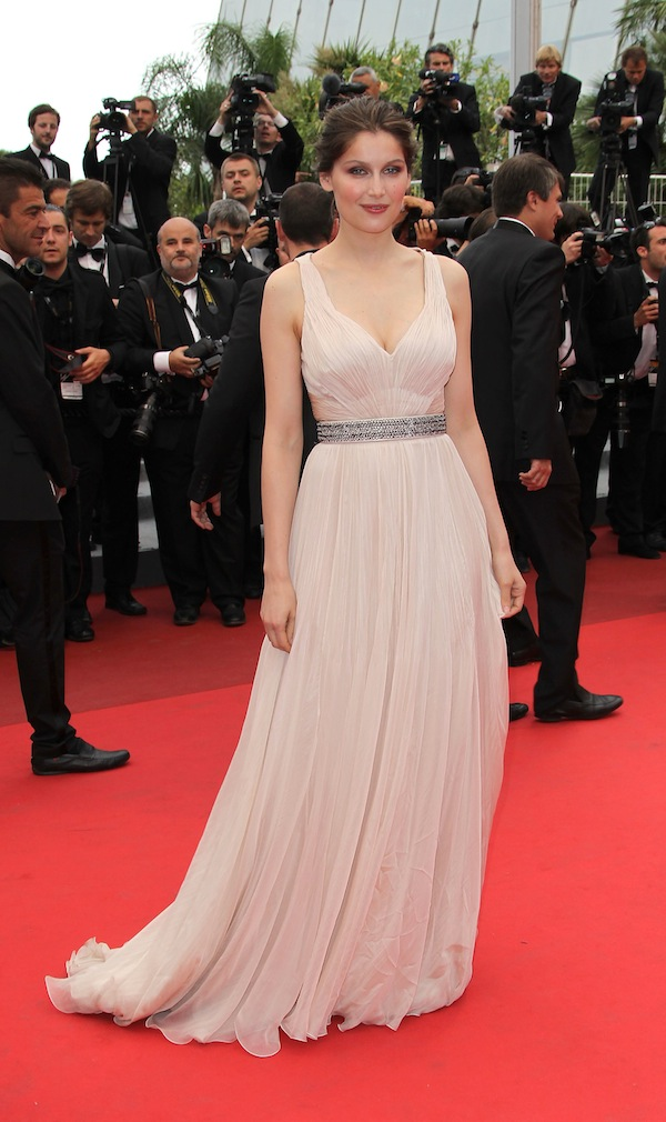laetitia casta dresses. Laetitia Casta in Roberto